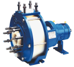 Plastic process pump
